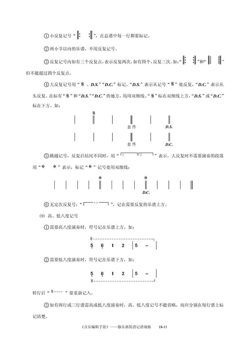 守则之歌歌谱-重新录入的 音乐编辑手册 器乐曲简谱记谱规格 记谱法研讨 制谱论坛