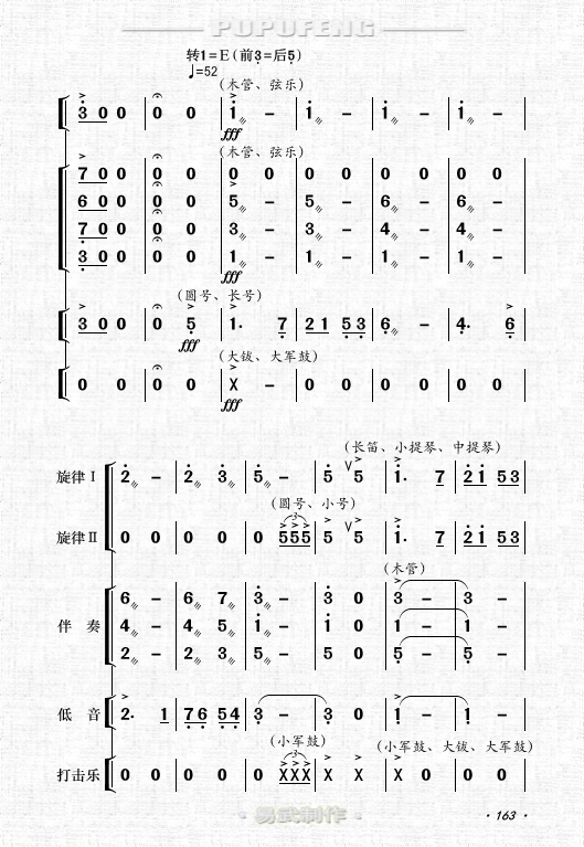 d调唢呐西口情曲谱-军 全剧主旋律乐谱之第六场 制谱展评 制谱论坛 谱谱风 简谱 软件